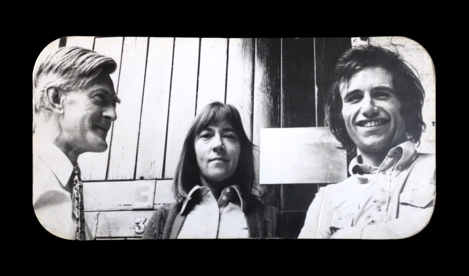 Jock Kinneir, Margaret Calvert, David Tuhill, early 1970s