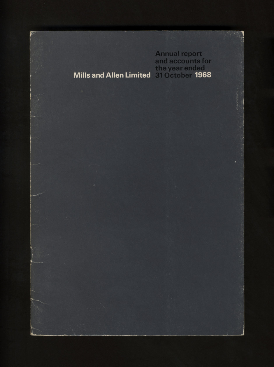 C/R Mills & Allen Annual Review, 1968