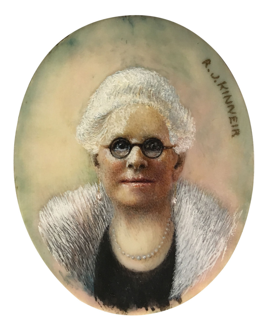 'Mrs Stamp', R. J. Kinneir, 1935