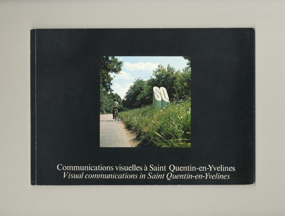'Visual Communications in Saint Quentin-en-Yvelines' proposal document